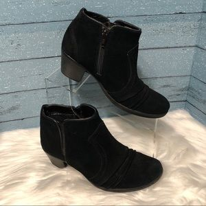 Earth Origins Black Suede Booties